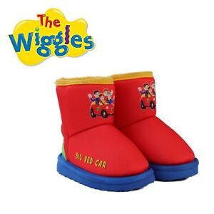Image is loading THE-WIGGLES-Big-Red-Car-Ugg-Boot-Boots-
