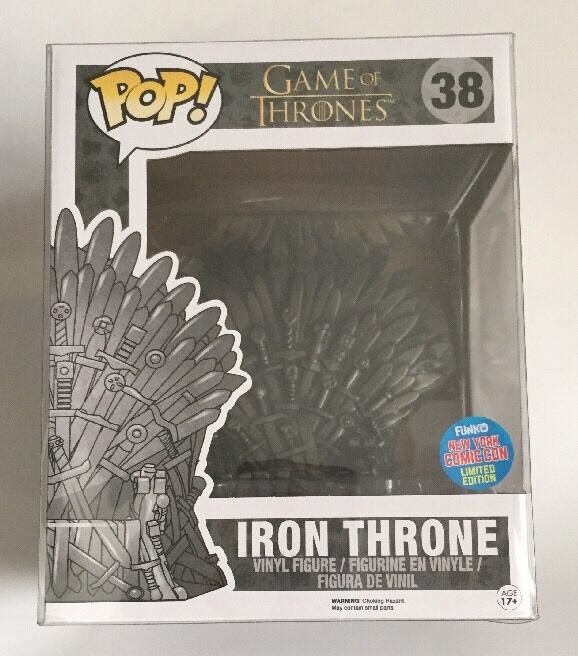 Funko Funko Funko Pop NYCC 2015 Game Of Thrones Iron Throne Chair Vinyl Figure 7fb601