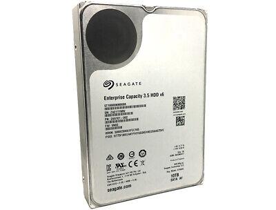 "Seagate 10TB ST10000NM0086 7200RPM SATA6.0Gb//s 256MB  3.5/"" Enterprise Hard Drive"