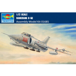 Trumpeter-01685-1-72-Scale-Chinese-Nanchang-Q-5C-Aircraft-Assembly-Model-Kits