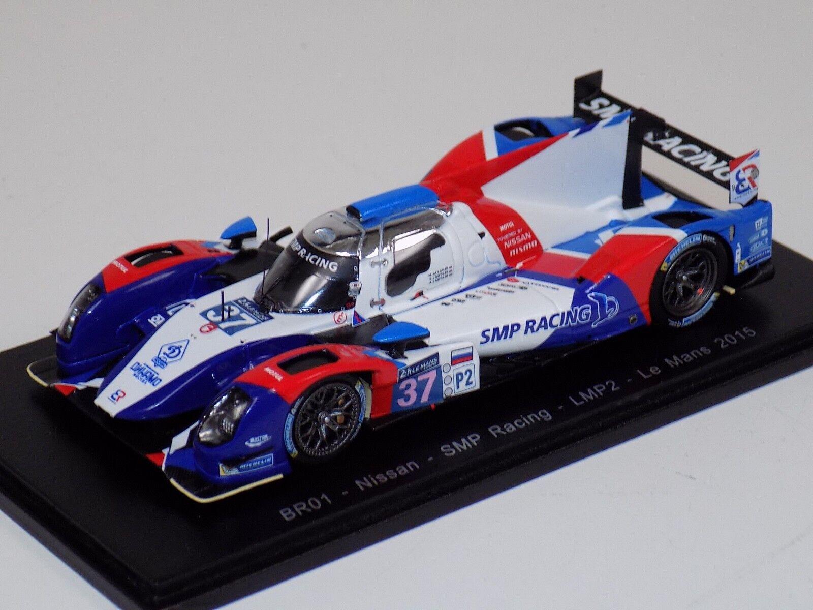 1 43 Spark BR01 Nissan SMP Racing Voiture LMP2  37 de 2015 24 H LeMans S4652