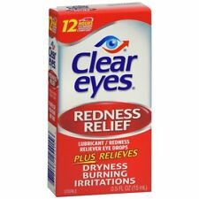Clear Eyes Redness Relief Eye Drops 0.5oz 678112254156a289