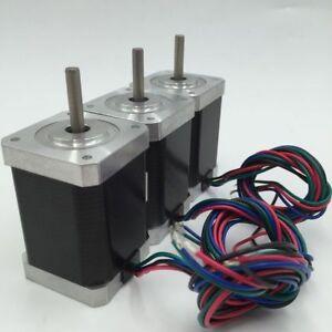 3pcs-lot-Nema17-0-2Nm-Stepper-Motor-0-4A-L26mm-28oz-in-2phase-1-8-fr-3D-Printer