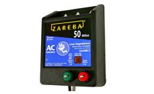 50 Mile Ac Low Impedance Energizer Zareba Fence Electric Fuseless Rugged Case
