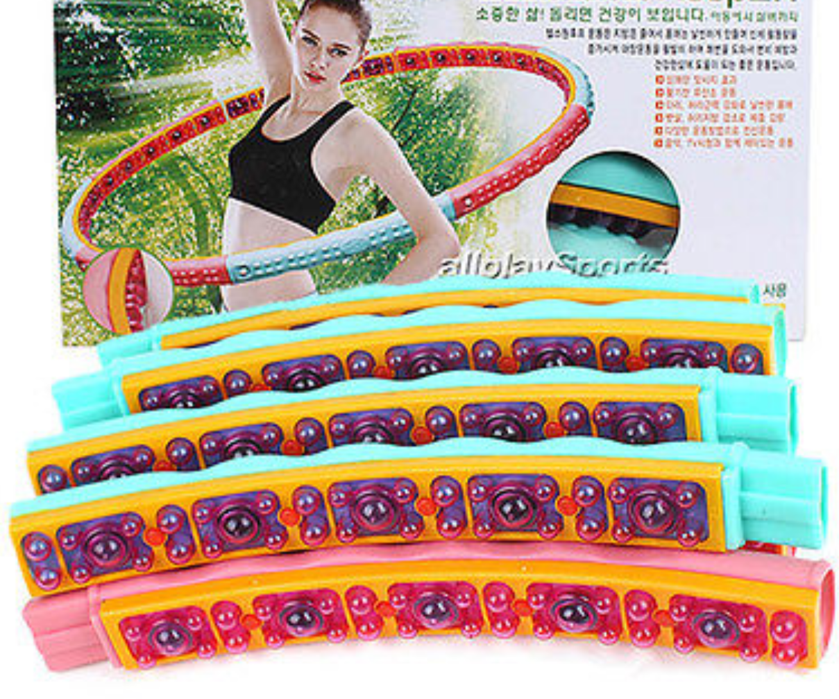 Health Hoop®-  Fat Burning Magnetic   Hula Hoop for Exercise,Fitness 4.6lb