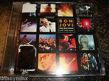 BON JOVI cd ONE WILD NIGHT free US shipping