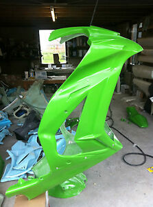 KAWASAKI-ZX10R-2011-2012-FRONT-RACE-FAIRING-WSB-FACTORY-STYLE-WITH-EARS