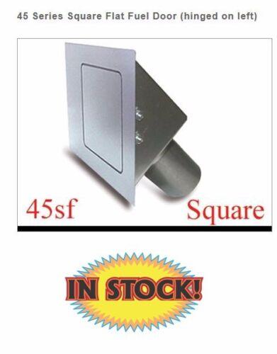 Square 45 Degree Fuel Filler Door Flat Face Hagan 45SF