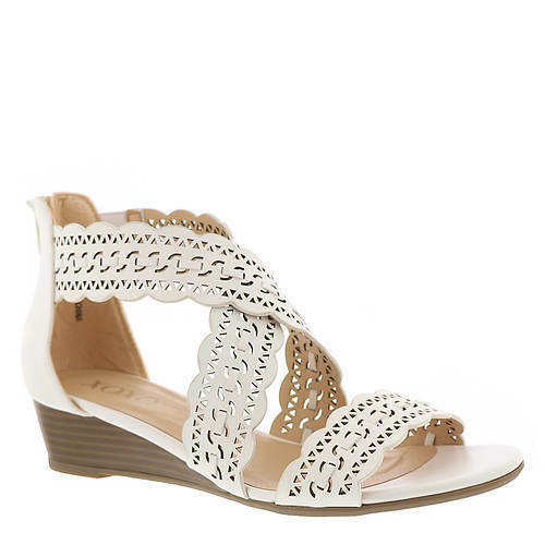 XOXO Gladiator Beach Wedding Sandals Floral Cutouts Sz 8.5 Womens shoes New