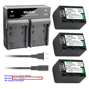 Kastar-Battery-Rapid-Charger-for-Sony-NP-FH70-NPFH70-amp-Sony-HXR-MC1-HDR-SR12