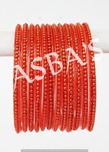 Indian Ethnic Bracelets Bijoux Bollywood couleurs assorties enfants verre Bracelets Set