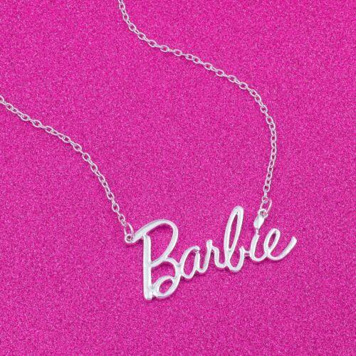Barbie® Script Logo Necklace
