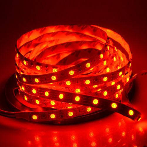 5-30M LED Stripe RGB Leiste Streifen 5050 Band nicht Wasserdicht Lichterkette