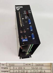 Clever Pp5022 Servoregler Lenze 9100 9103 Exquisite Traditionelle Stickkunst Motorenantriebe & Steuerungen Frequenzumrichter (vfd)
