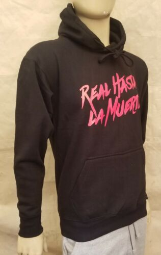 Real Hasta La Muerte Black or White Hoodie Anuel AA Tour Pullover Bad Bunny