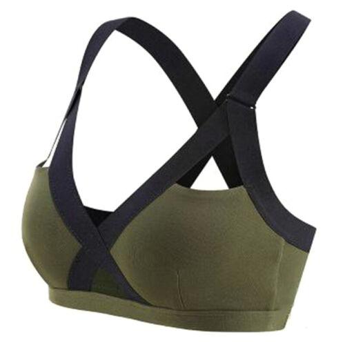 Damen Push Up Sport BH Bra Bustier Fitness Yoga Gym Ohne Bügel Top Unterwäsche