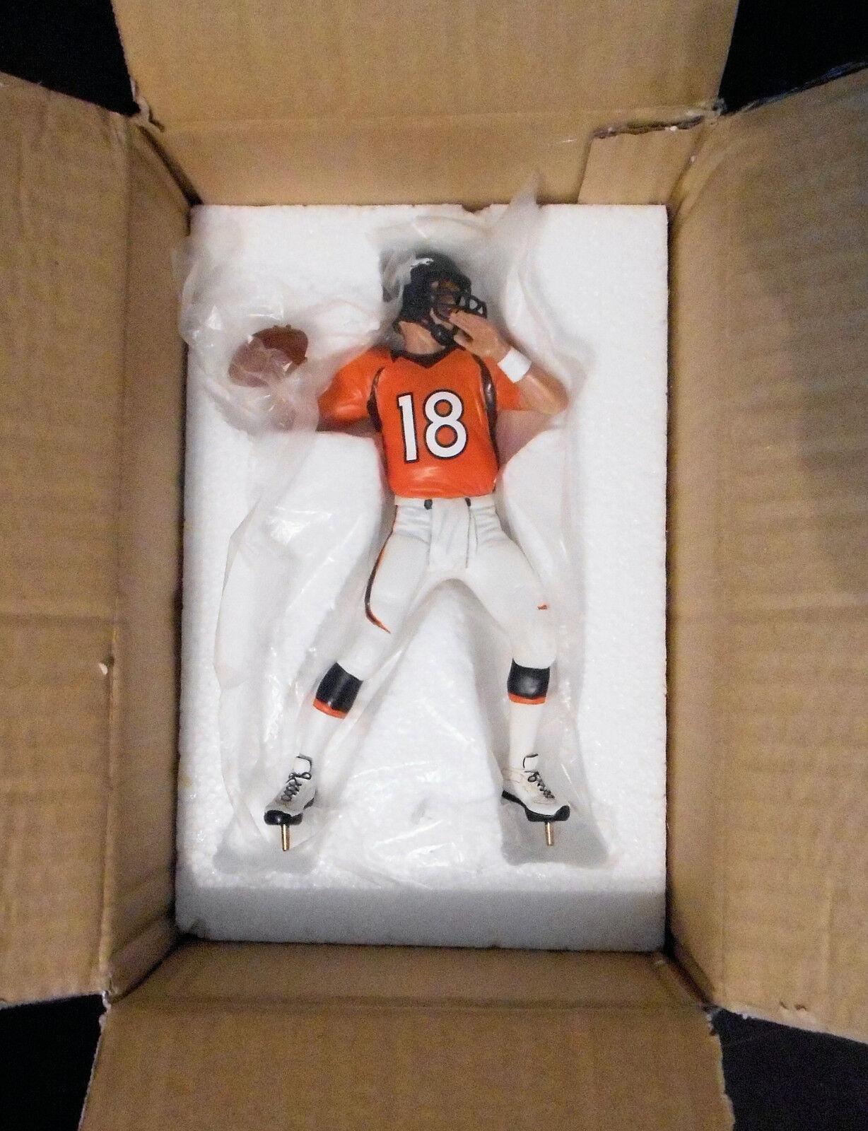 Peyton Manning Danbury Mint Figurine Rare Denver Broncos Figure New in Box NIB
