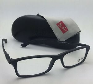 a1f4326d9a New RAY-BAN Rx-able Eyeglasses RB 7017 5196 52-17 140 Matte Black ...