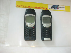 2-Nokia-6210-Negro-Desbloqueado-Telefono-Movil-039-s-LCD-defectuoso-etc-por-favor-lea