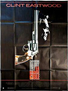 Plakat-Kino-Inspektor-Harry-La-Derniere-Target-Clint-Eastwood-120-X-160-CM