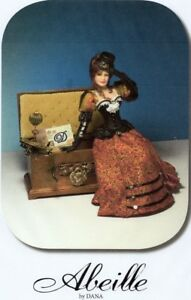 ICE QUEEN! 1:12 scale Miniature Doll Art Tutorials ~ Patterns ~ Clothes//Hair