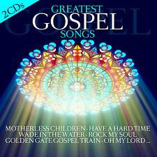 CD Greatest Gospel Songs von Various Artists 2CDs