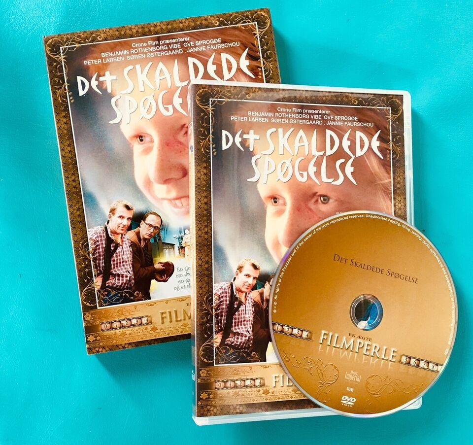 Det skaldede Spøgelse, DVD, familiefilm