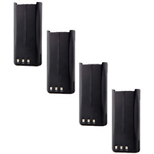 4pcs Li-Ion KNB-45L Battery for KENWOOD TK-2207 TK-3207 TK-2312 TK-3312