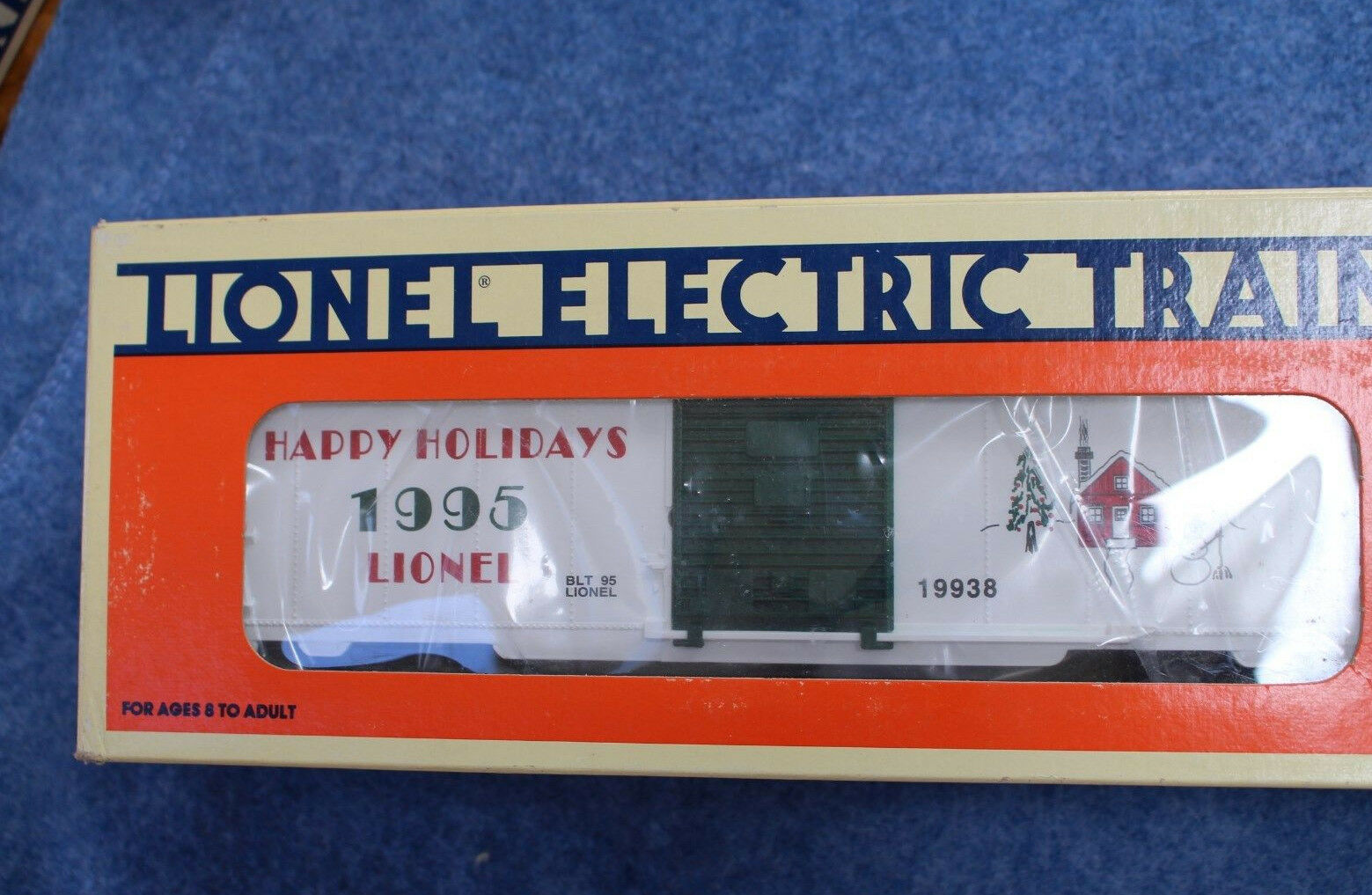 1995 Lionel 6-19938 Christmas Box Car Happy Holidays L2661