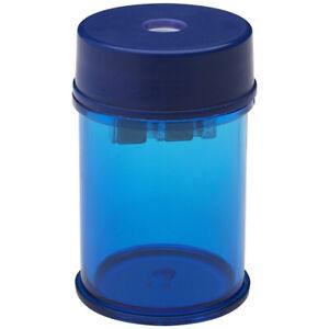 5-Star-Hole-Canister-Barrel-Tub-Blue-Pencil-Sharpener