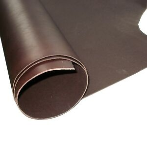 TOOLING CRAFT LEATHER BROWN 2MM THICK PREMIUM  VEG TAN COWHIDE SHOULDER - HIDE