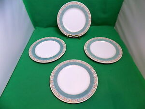 Wedgwood-Aztec-Salad-Plates-x-4