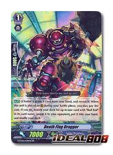 Cardfight Vanguard  x 4 Death Flag Dragger - G-FC02/039EN - RR Mint