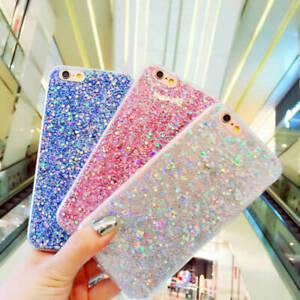 Bling-Brillant-Poudre-Paillette-Telephone-Coque-Housse-Etui-Pour-iPhone-7-8-X-Xs