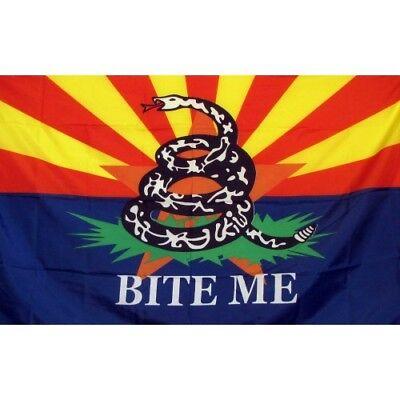 Arizona Bite Me 3ft X 5ft Polyester Flag
