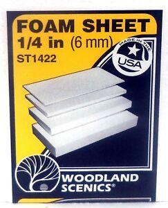 Oo Scale St1425 Woodland Scenics 2 X 2 Long Foam Sheet