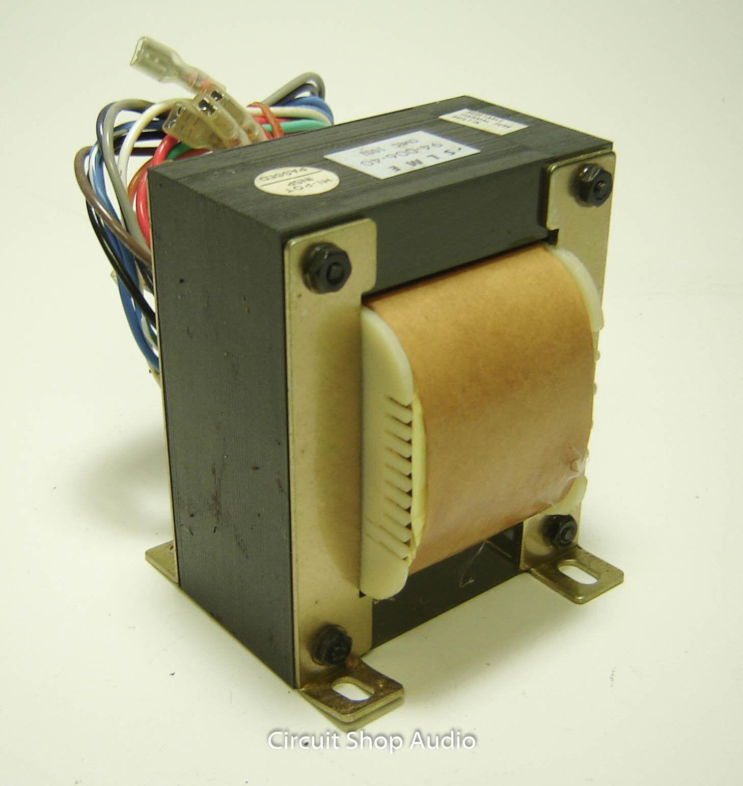 Nuevo Crate BFX-220H Export Transformador -- 94-006-40 Power Power Power 4cab08