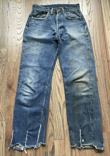vintage levi 501 big e hidden rivet 30x29