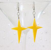 Princess Rosalina Earrings - Super Mario Galaxy Cosplay Handmade Yellow Stars