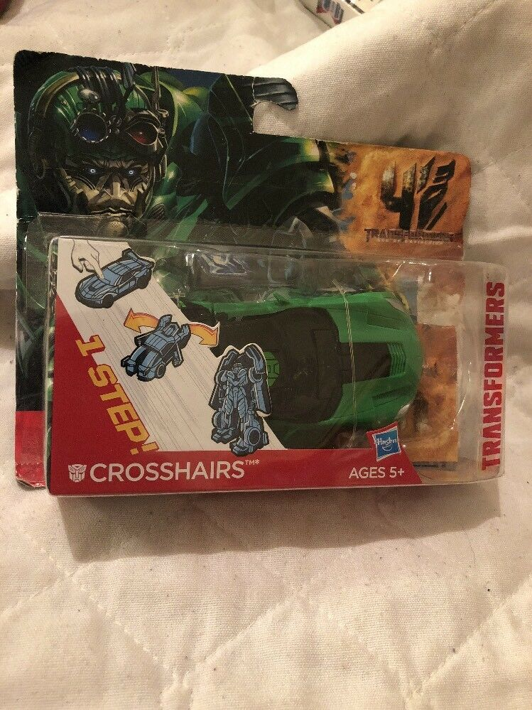 Transformers Age of Extinction Crosshairs One Step Changer Rare Sealed