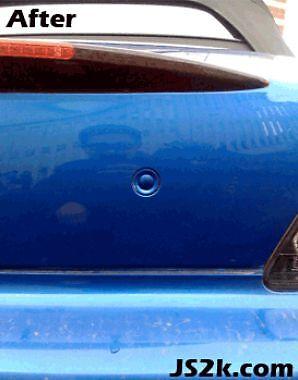 JS2k Honda S2000 Laguna Blue Keyhole Covers Bumper Spoiler Plugs B-545P