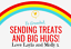 Personalised-Hug-amp-Treat-filled-Sweets-Chocolate-jar-Self-Isolation-Gift thumbnail 2