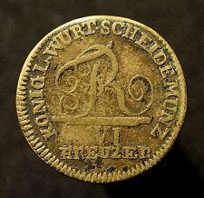 Kgr. Württemberg, Friedrich I., 6 Kreuzer 1806, zeitgen. Messingprägung, RR!