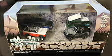 Greenlight 1/64 Rocky Mountain Trail Climbers 4 Vehicle Set VW, Jeep, Ford 58038