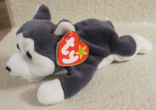 Ty Beanie Baby Nanook 1996 4th Generation Hang Tag PVC Filled