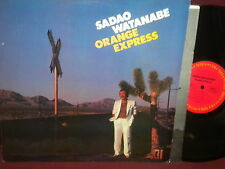"Sadao Watanabe ""Orange Express"" LP"