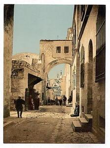 El-Arco-de-Ecce-Homo-Jerusalen-A4-Foto-Impresion