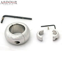 Stainless Steel Testicle Ball, Scrotum Stretcher, Ball Weigh 12 Oz