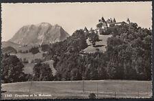 Switzerland Postcard - Gruyeres Et Le Moleson   B1041