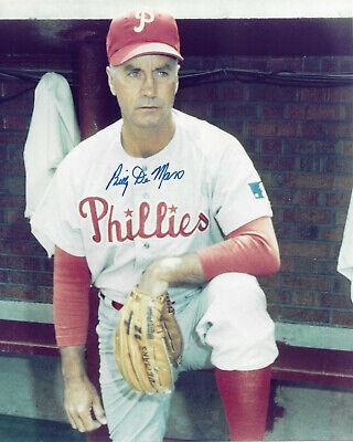BILLY DeMARS Autographed Signed 8 x 10 Baseball Photo Philadelphia Phillies  COA | eBay